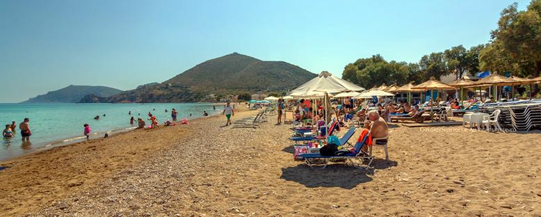 Komi Plajı - Sakız Adası