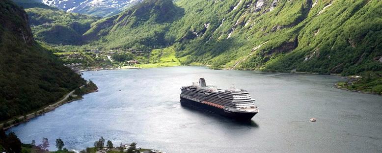 Koningsdam ile Norveç Fiyortları Gemi Turu