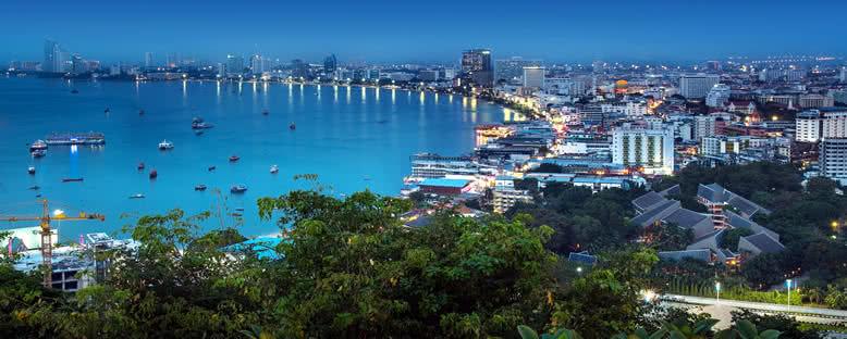 Körfezde Akşam Manzarası - Pattaya