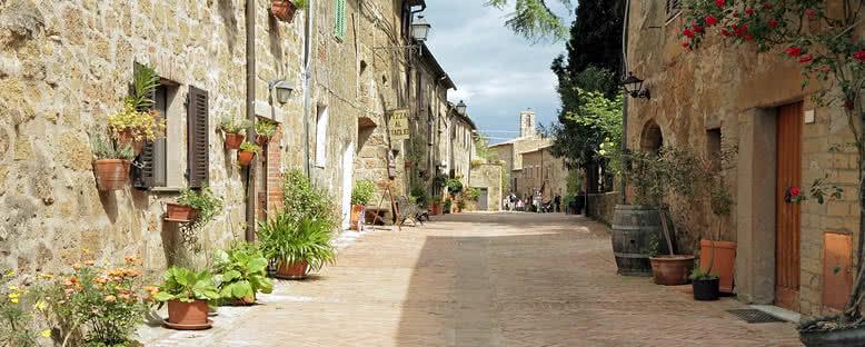 Köy Sokakları - Toskana