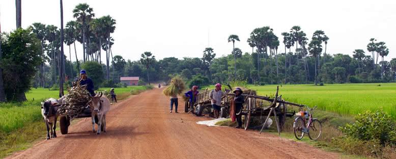 Köylüler - Kampong Tralach