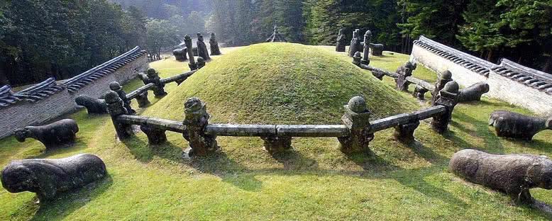 Kraliyet Mezarlıkları - Gyeongju