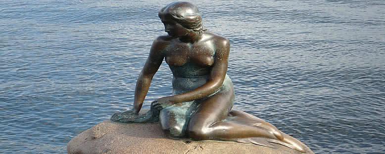 Küçük Deniz Kızı Heykeli - Kopenhag