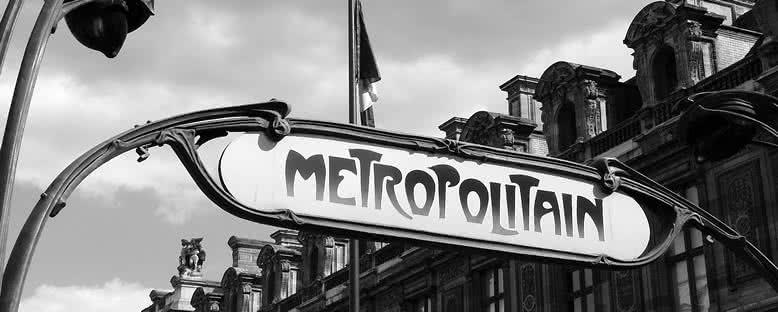 Geleneksel Metro Tabelaları - Paris