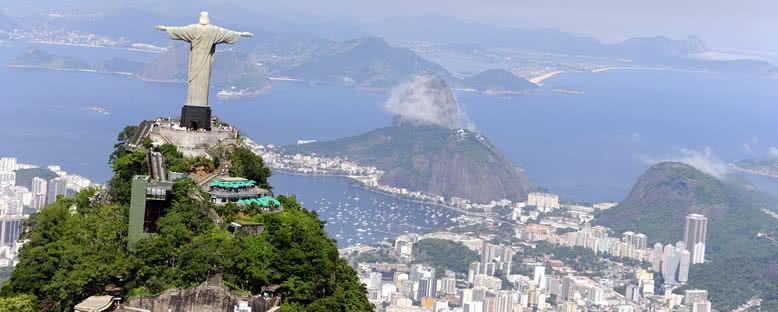 Kurtarıcı İsa Heykeli ve Liman Bölgesi - Rio de Janeiro