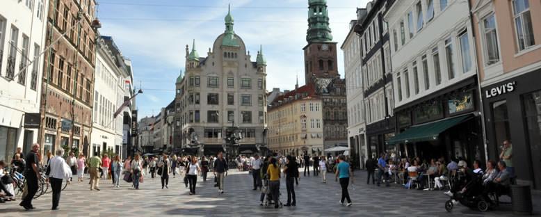 Amagertorv Meydanı - Kopenhag