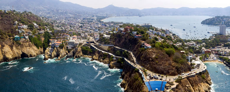 La Quebrada Kayalıkları - Acapulco
