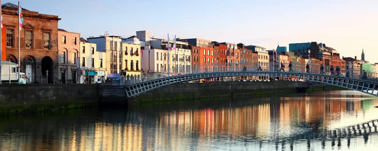 Liffey Nehri Kıyıları - Dublin