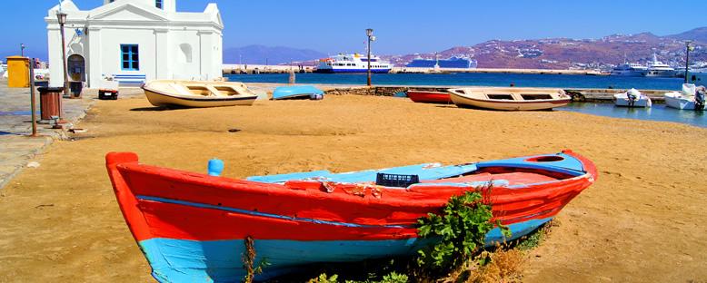 Liman Bölgesi - Mykonos
