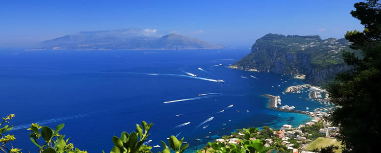 Liman Manzarası - Capri