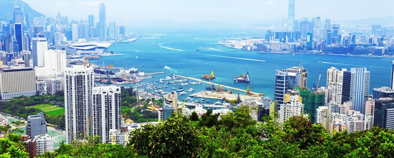 Liman Manzarası - Hong Kong