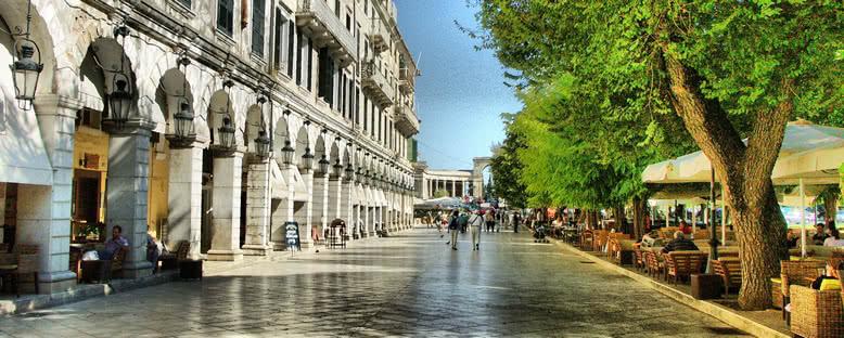 Liston Caddesi - Korfu