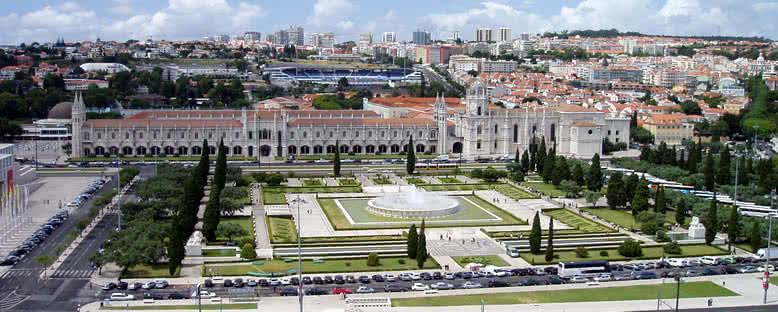 Jeronimos Manastırı ve Bahçeleri- Lizbon
