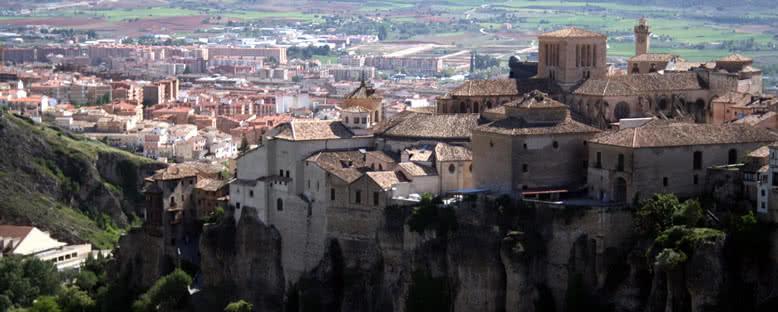 Los Canónigos Manzarası - Cuenca