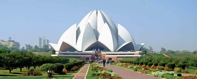 Lotus Tapınağı - Delhi