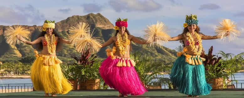 Luau Dansçıları - Hawaii