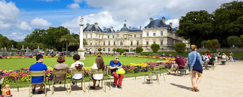 Luxembourg Bahçesi - Paris