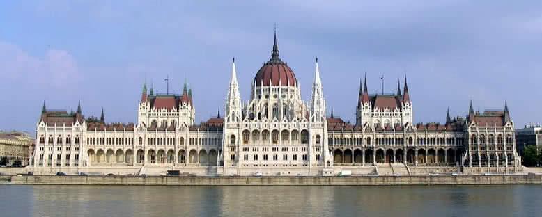 Macaristan Parlamentosu - Budapeşte