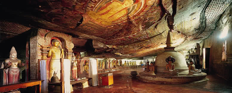 Mağara Tapınakları - Dambulla