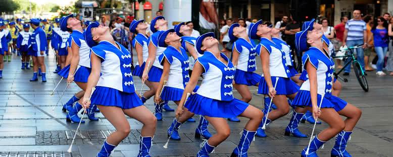 Majorette Dansçılar - Belgrad