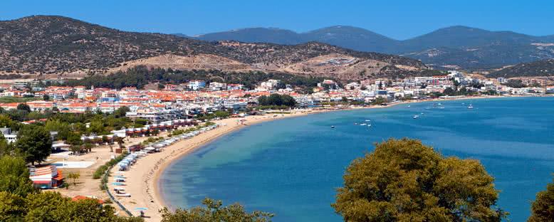 Nea Peramos Plajı  - Kavala