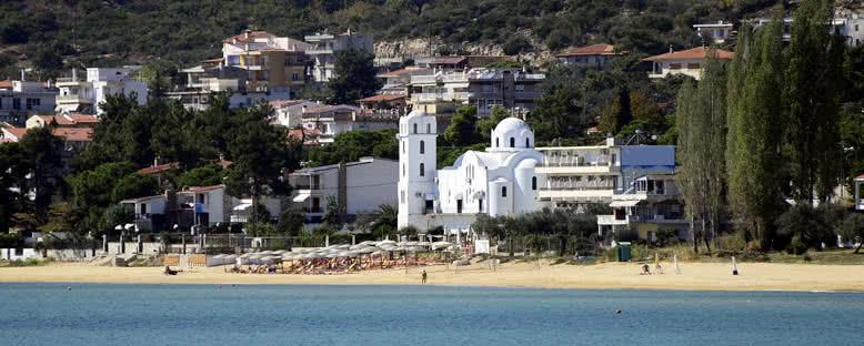 Palio Köyü ve Plajı - Kavala