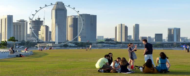 Marina Bölgesi - Singapur