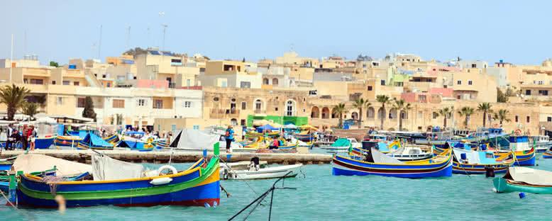 Marsaxlokk Köyü - Malta