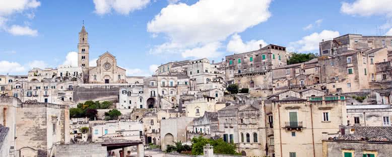 Matera Tarihi Merkezi - Puglia