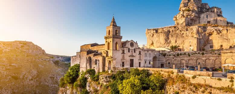 Matera Taş Kiliseleri - Puglia