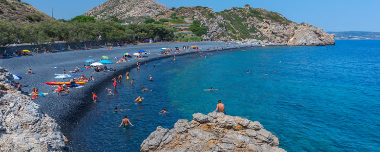 Mavra Volia Plajı - Sakız Adası