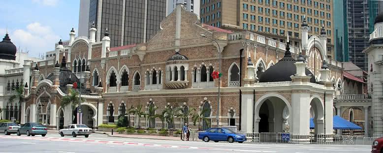 Merdeka Meydanı ve Eski Belediye Binası - Kuala Lumpur