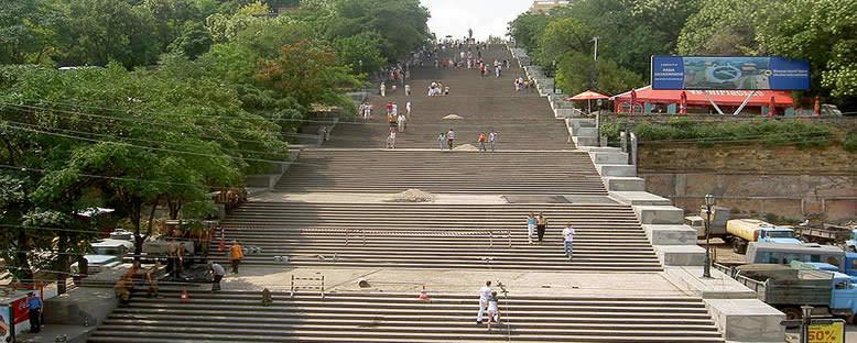 Potemkin Merdivenleri - Odessa