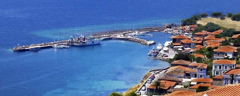 Molyvos Limanı - Midilli