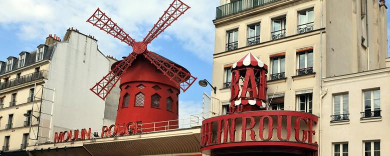 Mouin Rouge Kabaresi - Paris