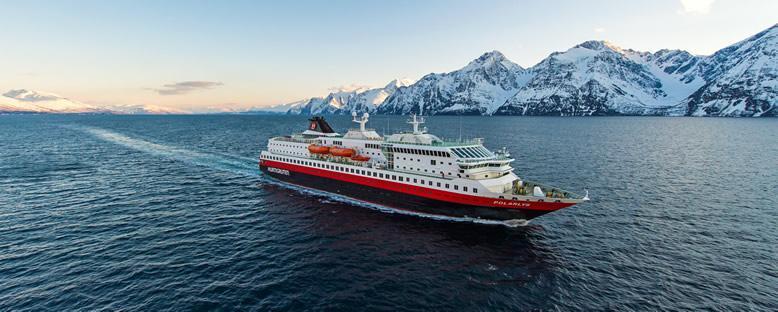 MS Polarlys ile Kutup Işıkları Gemi Turu