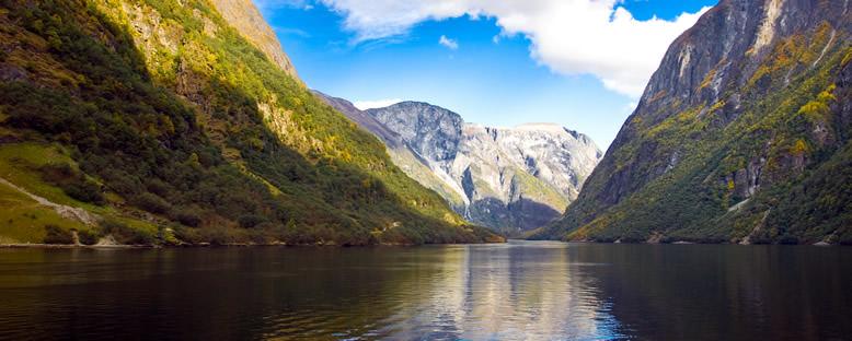 Fiyort Manzarası - Norveç