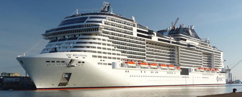 MSC Bellissima ile Arap Yarımadası Gemi Turu