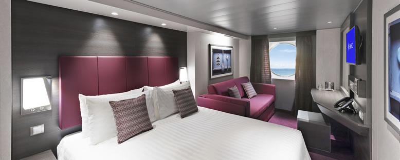 Örnek Dış Kabin - MSC Cruise