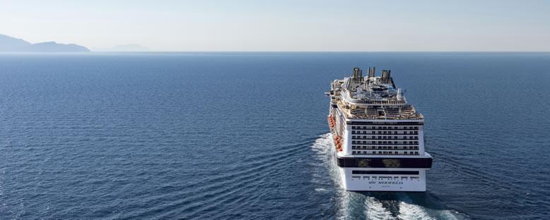 MSC Cruise ile Baltıklar Gemi Turu