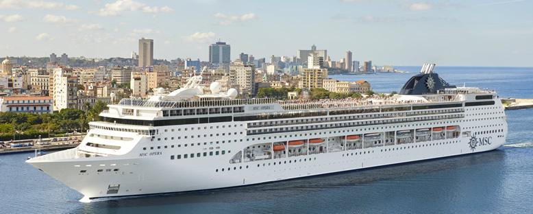 MSC Opera ile Akdeniz Cruise Gemi Turu