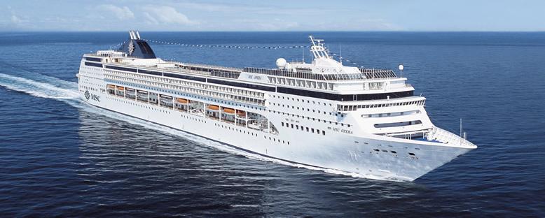 MSC Opera Cruise Gemisi ile Küba & Karayipler