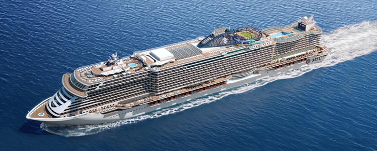 MSC Seaside Cruise Gemisi