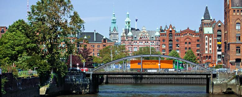 Tarihi Merkez - Hamburg