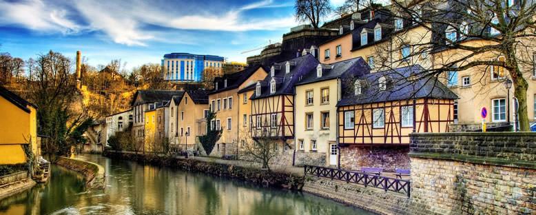 Nehir Kıyısında Evler - Lüksemburg