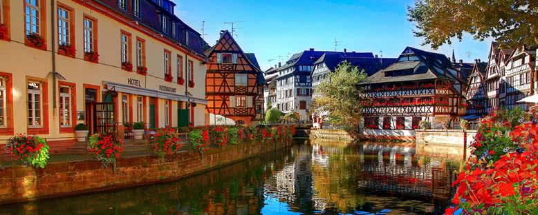 Nehir Kıyısında Evler - Strasbourg