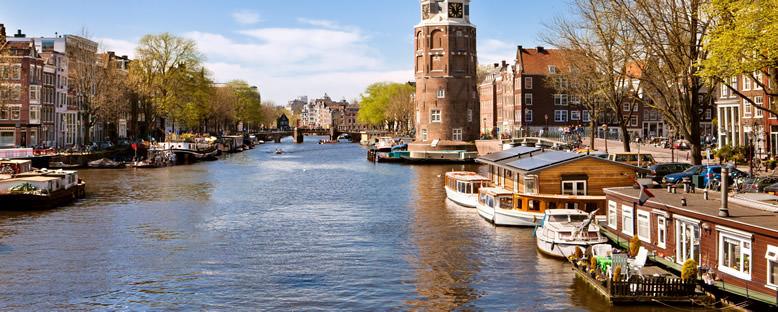Kanallar ve Tekne Evler - Amsterdam