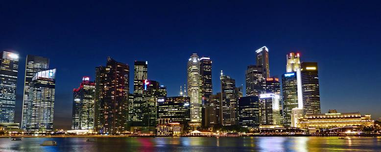 Nehirden Görünüm - Singapur
