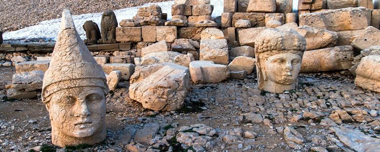 Nemrut Dağı Heykelleri - Adıyaman