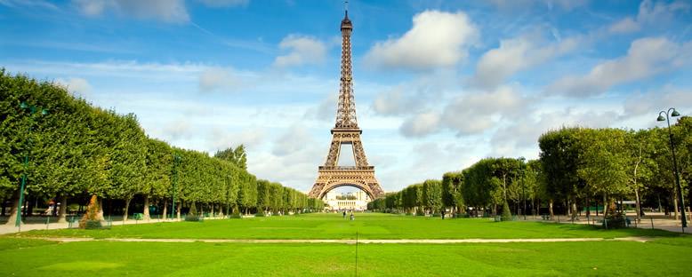 Eiffel Kulesi ve Park - Paris
